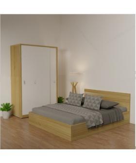 Giường ngủ A1 - Gỗ MDF